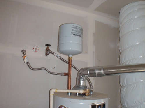 Image Result For Water Heater Expansion Tank Installation