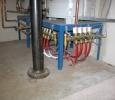 Plumbing under the water heater?