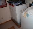 Sheetmetal pan around the dryer?