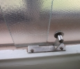 Bathroom slider hardware